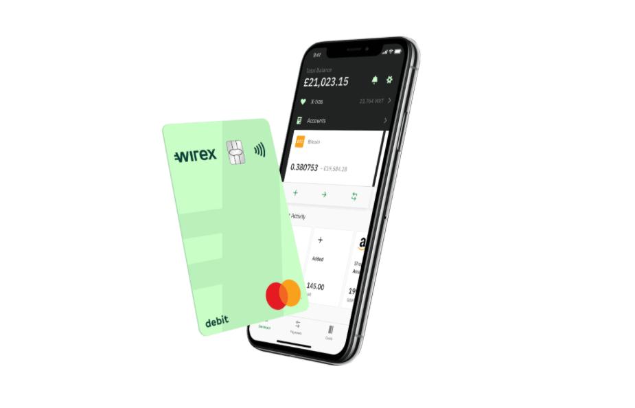 Wirex jauna Master kriptokarte