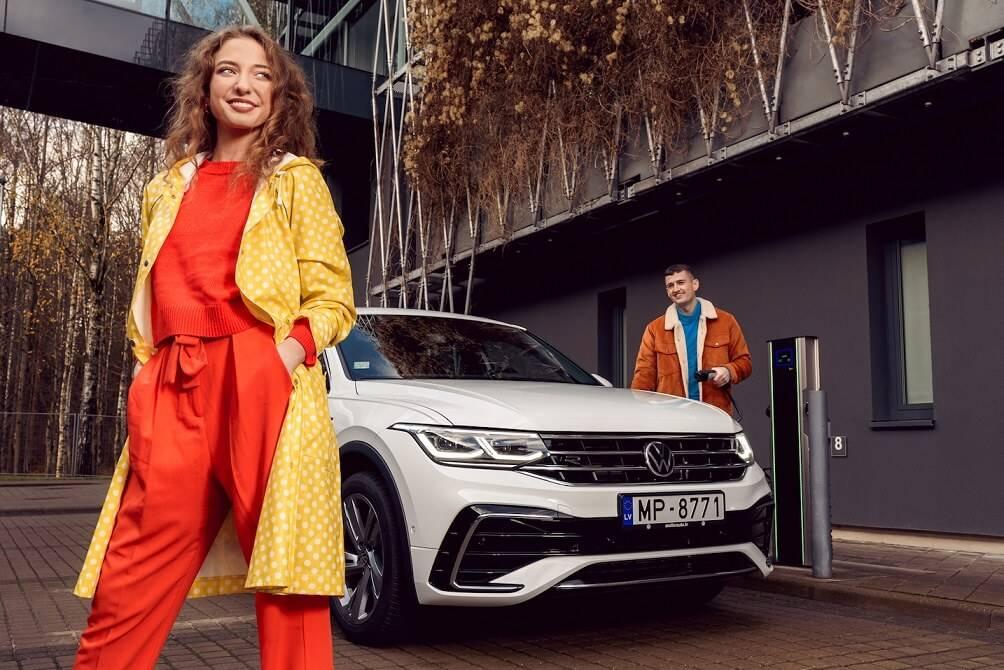 Jaunais Volkswagen Tiguan tagad pieejams arī ar ekonomisku hibrīda dzinēju