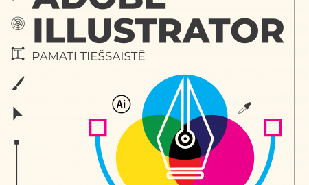 Apgūsti prasmes darbam ar programmatūru Adobe Illustrator