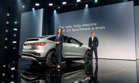 Elektriski, efektīvi un emocionāli pievilcīgi: prezentē Audi Q4 e-tron un Q4 Sportback e-tron