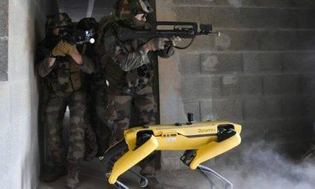 Boston Dynamics francijas armija
