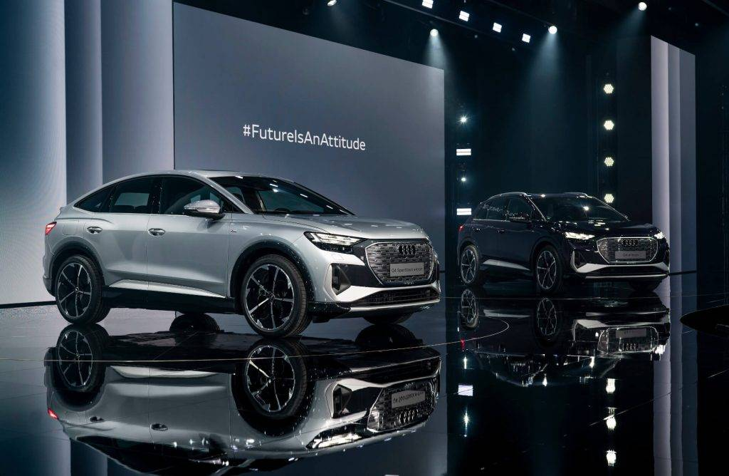 Prezente Audi Q4 e-tron un Q4 Sportback e-tron-2 (1)
