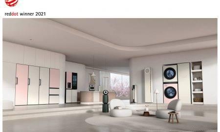 LG saņem 31 Red Dot Design balvu
