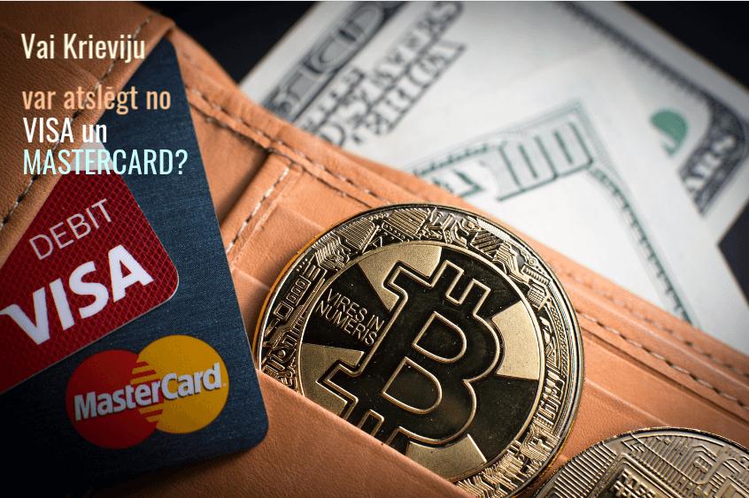 Vai Krieviju var atslēgt no VISA un Mastercard