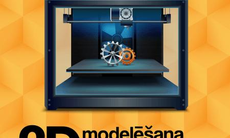 Digitālais centrs aicina tiešsaistē apgūt 3D modelēšanu 3D printerim