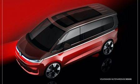 Volkswagen demonstrē jaunā Multivan skices; pirmizrāde jau jūnijā