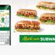 Ceturtā daļa Subway ēdienkartes ir veģetāriska, un dažādas variācijas piedāvā arī platforma Sub Snack