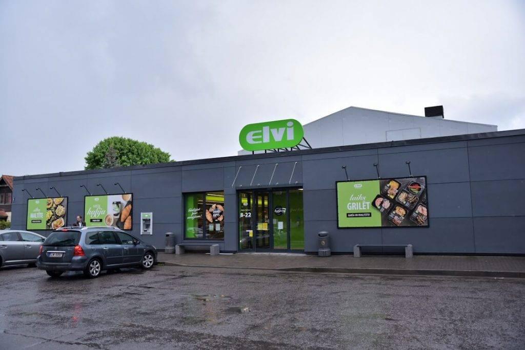 ELVI, investējot 700 000 eiro, atver modernu veikalu Ulbrokā