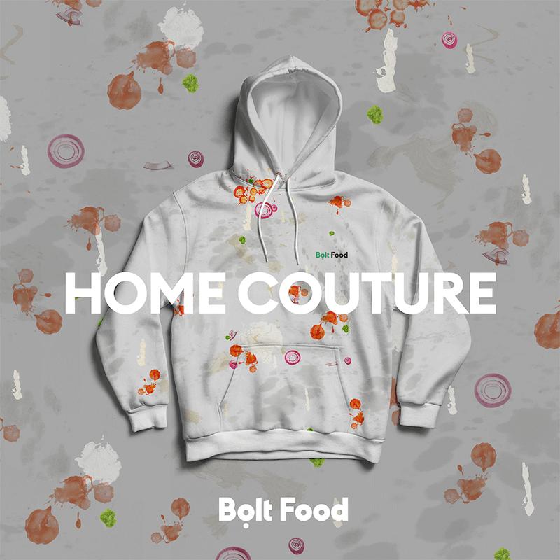 Radīts pandēmijas iedvesmots apģērbs par ēšanu mājās