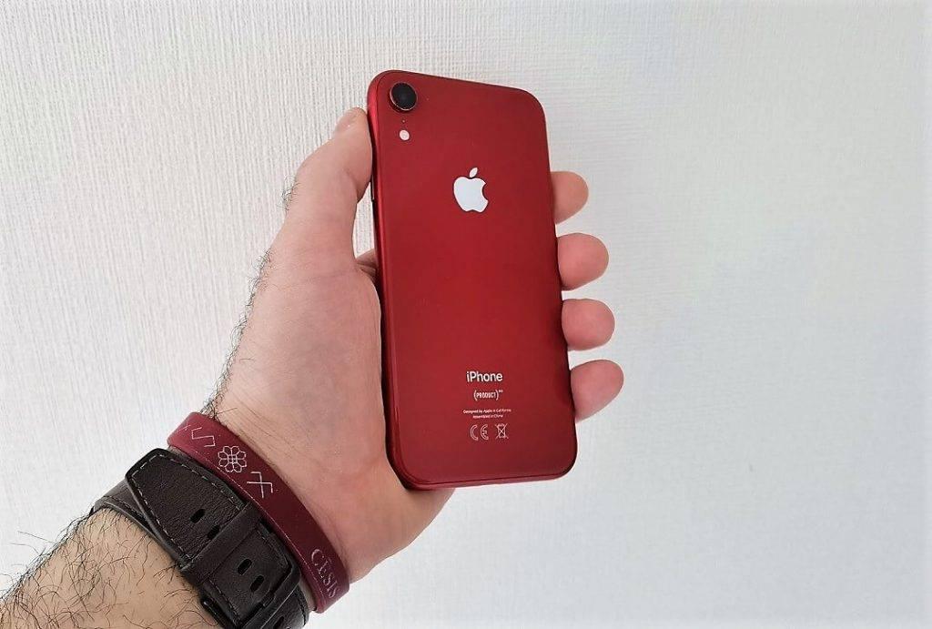 iPhone XR jauda pēc atjauninājuma