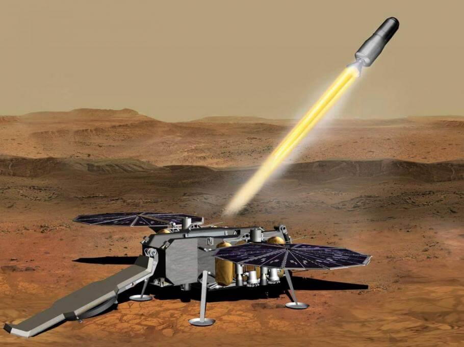 Kā NASA nosūtīs Marsa virsmas paraugus uz Zemi 2031. gadā?