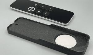 Siri pults ar airtag sensoru