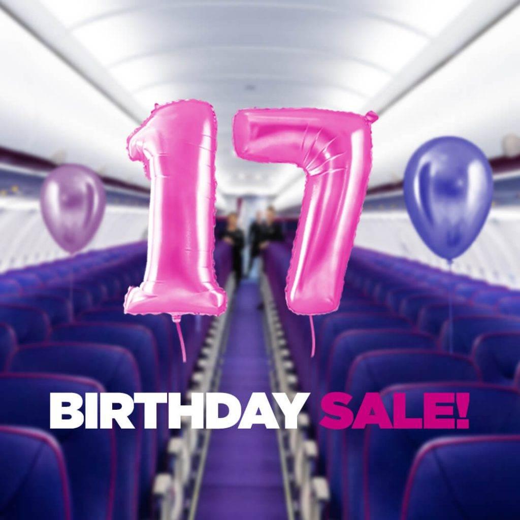 Wizz air svin dzimšanas dienu: atlaides visiem lidojumiem