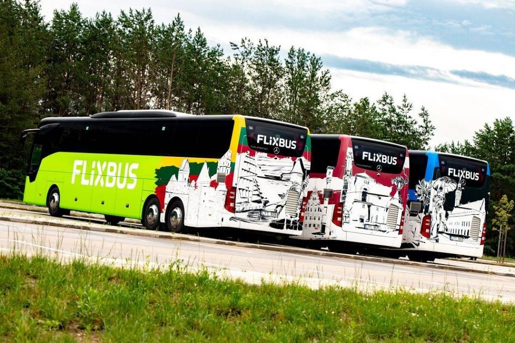 FlixBus atgriežas un paplašinās Baltijas valstīs