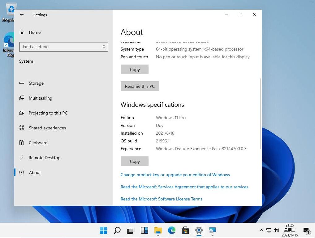 Windows 11 izskats