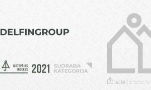 DelfinGroup Ilgtspējas indeksā ierindojas sudraba kategorijā