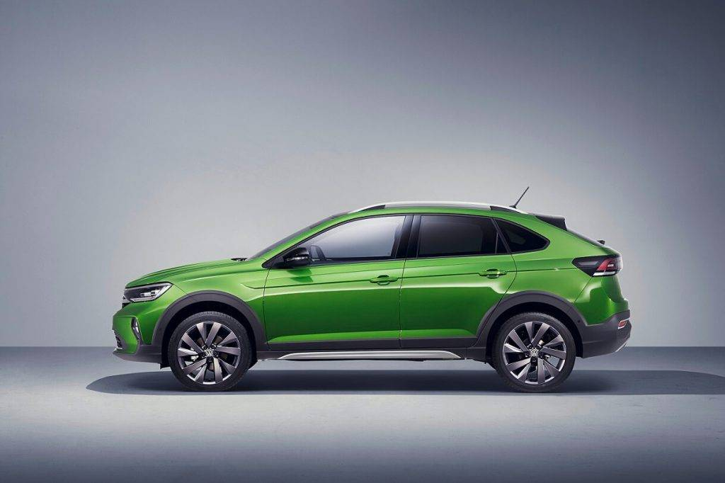 Volkswagen prezentē jauno kompakto krosoveru Taigo