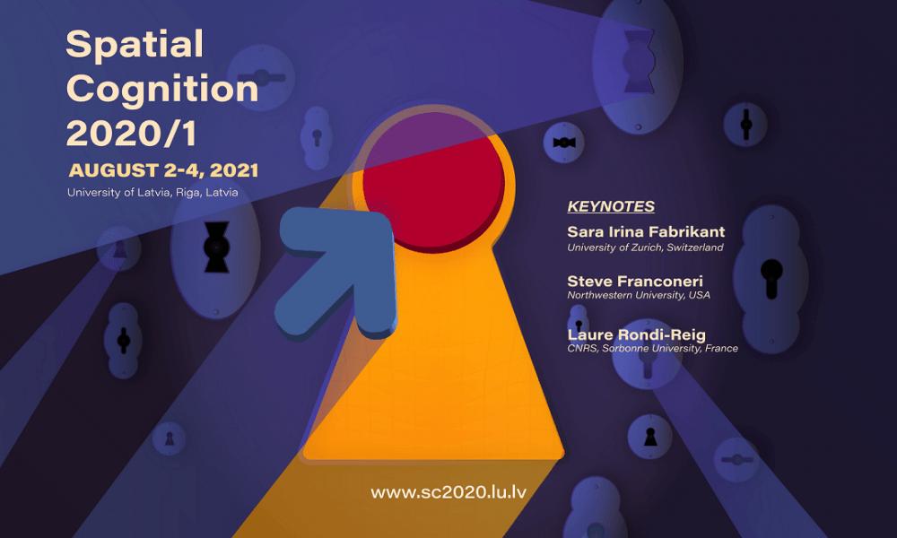LU norisināsies starptautiskā zinātniskā konference par telpisko uztveri, kognīciju un skaitļošanu – Spatial Cognition 2020/1