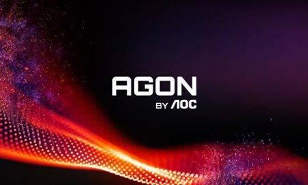 Jaunais AGON by AOC spēļu kosmoss