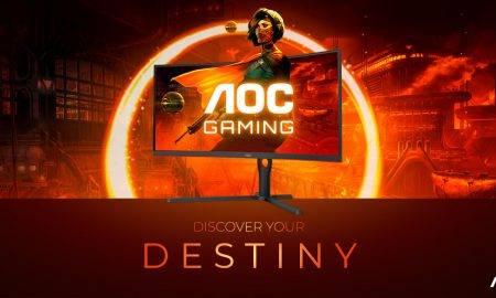 AOC GAMING G3 sērijas monitori ar 165 Hz un 1000R izliekumu