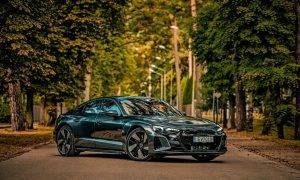 Audi Latvijā prezentēja e-tron GT