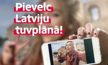 """Latvijas apceļošanas spēle """"Pievelc Latviju tuvplānā!"""""""