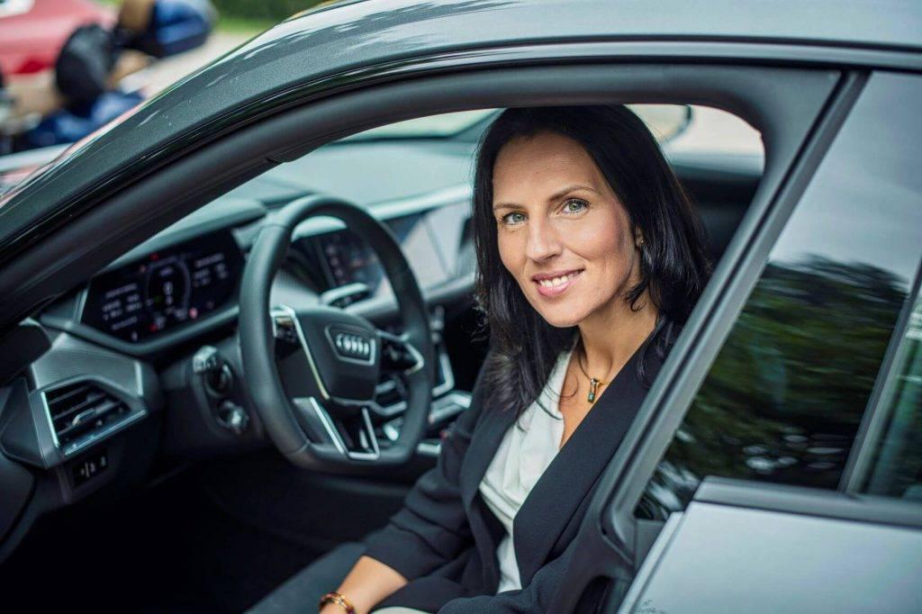 Audi un Volkswagen automašīnu importētāja izpilddirektore Ilze Grase-Ķibilde
