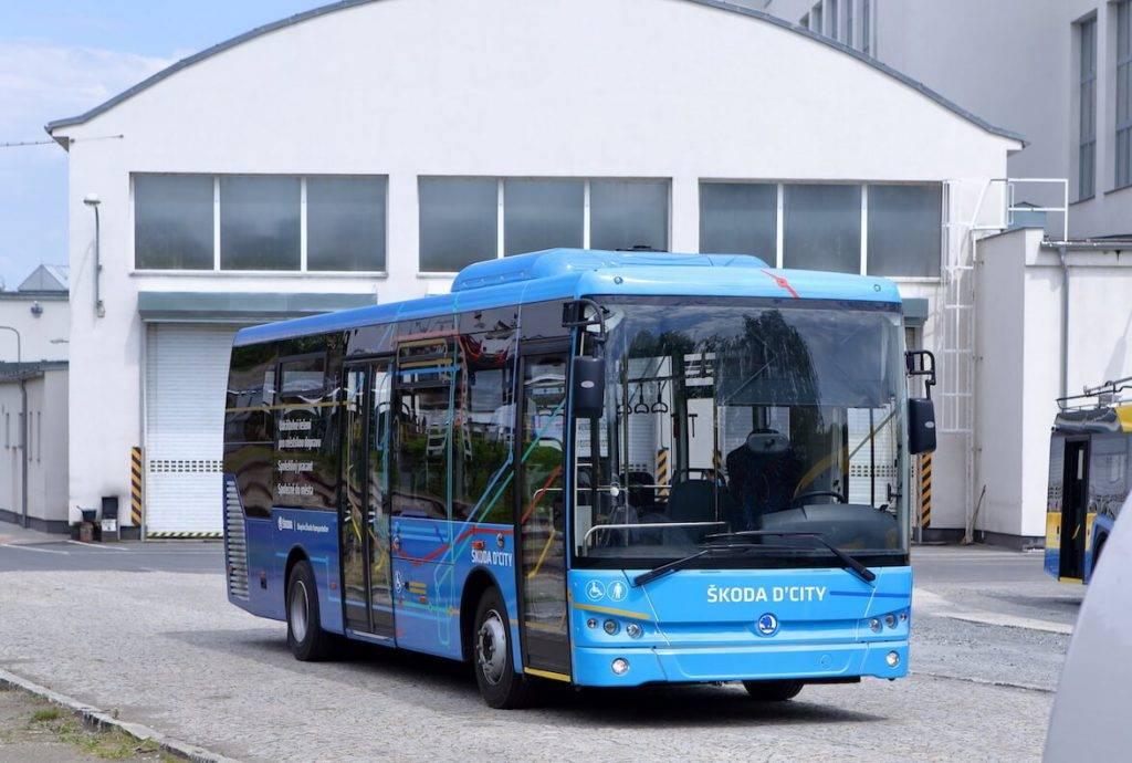 """""""Škoda Transportation"""" nāk klajā ar jaunu dīzeļa autobusu Škoda D'CITY"""