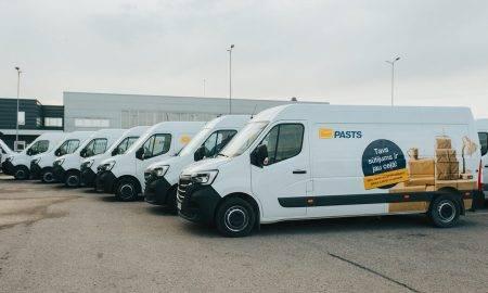 Ar 85 jaunu kravas mikroautobusu iegādi Latvijas Pasts uzlabo piegādes kvalitāti un darbinieku ērtības