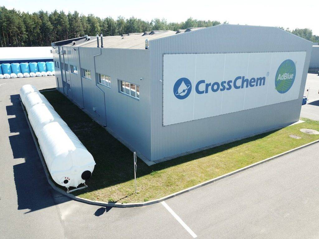 Latvijas uzņēmuma CrossChem ieņēmumi pirmajā pusgadā aug par 36%