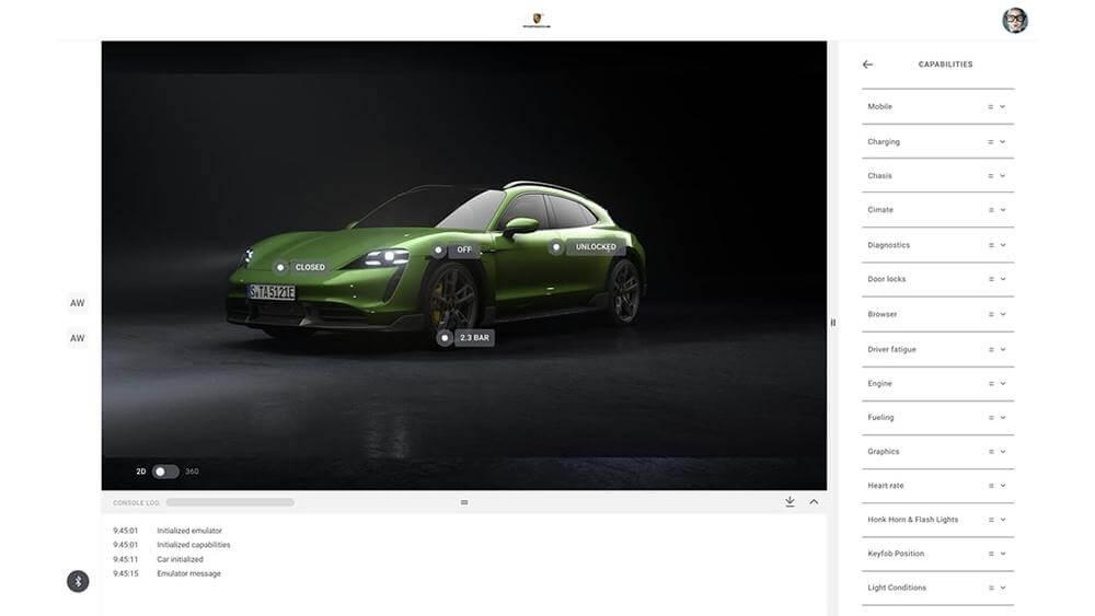 """Uzvarētāji iegūst piekļuvi """"Porsche Connect Partner"""" pakalpojumiem"""
