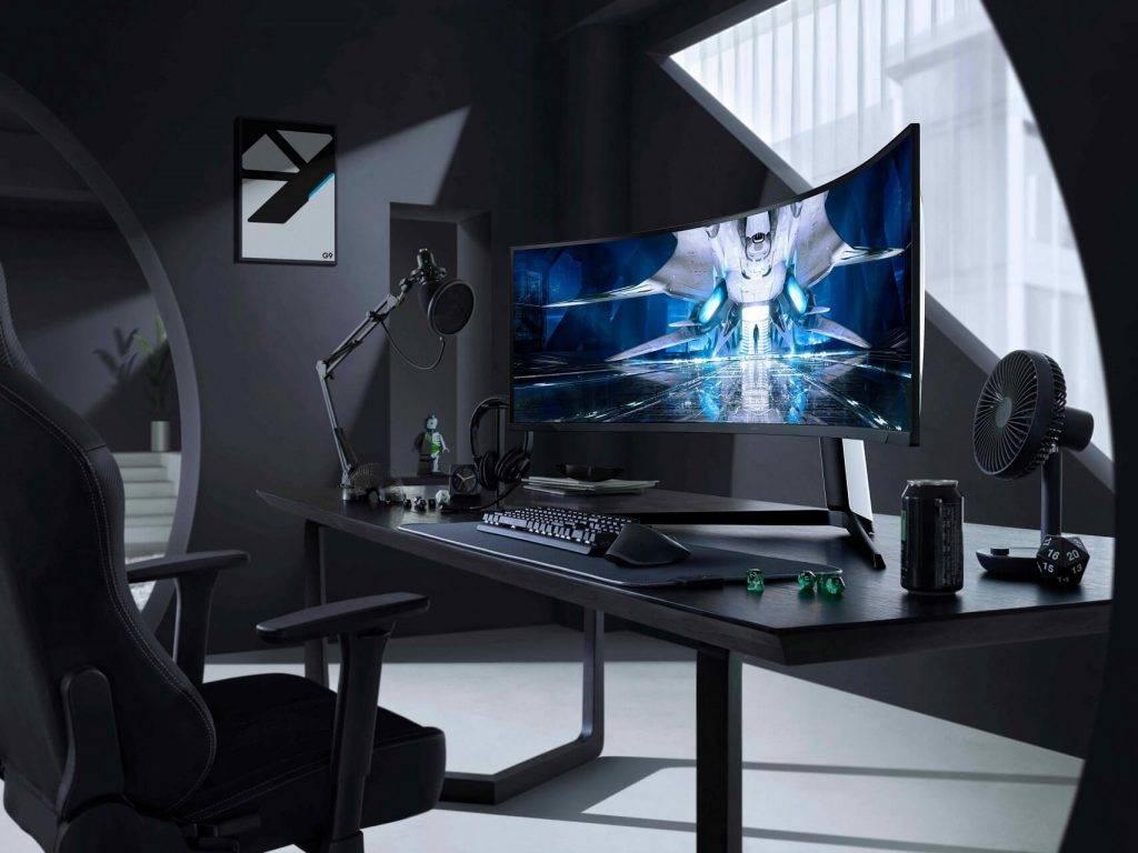 Samsung atklāj videospēļu nākotni ar Odyssey Neo G9