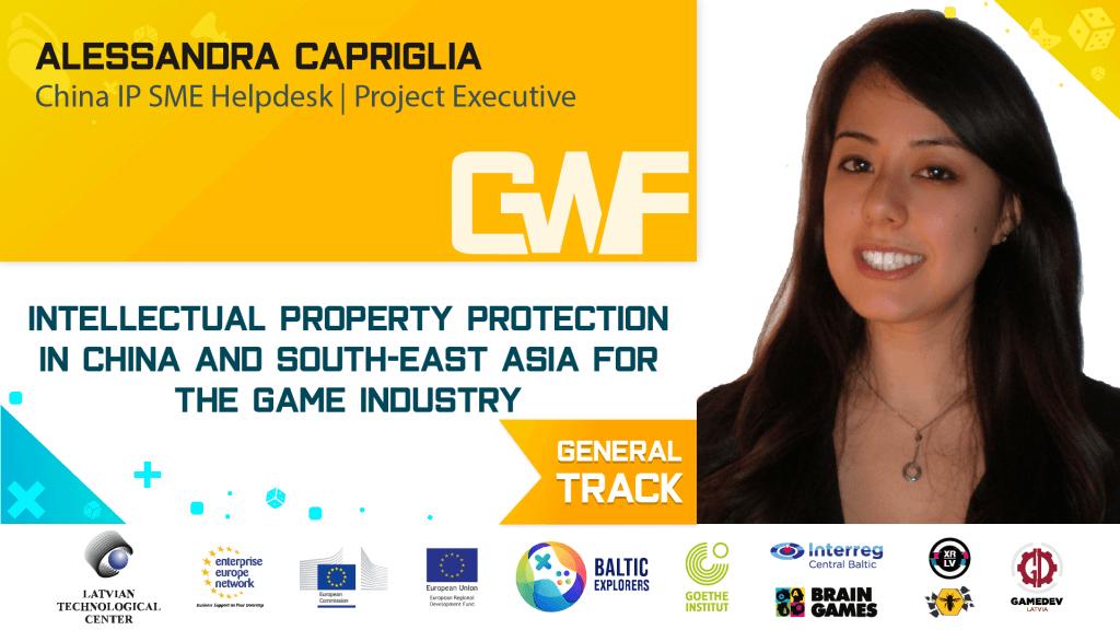 Alessandra Capriglia - intelektuālā īpašuma tiesību speciāliste