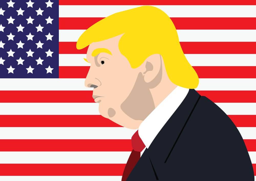Donalda Trampa bailes par dolāru