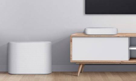 LG kompaktā skaņas josla sniedz telpu piepildošu skaņu filmu un mūzikas cienītājiem visa pasaulē
