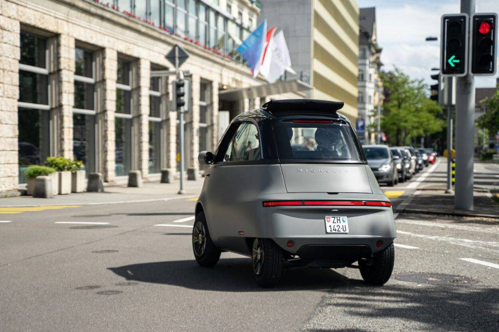 IAA Mobility izstādē prezentē Microlino 2.0