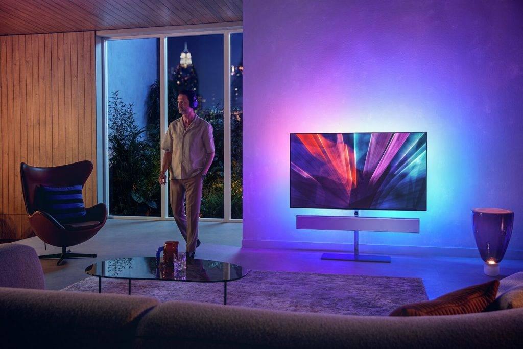 Philips prezentē jaunos OLED+ televizoru modeļus, kāpjot pakāpienu augstāk premium klasē