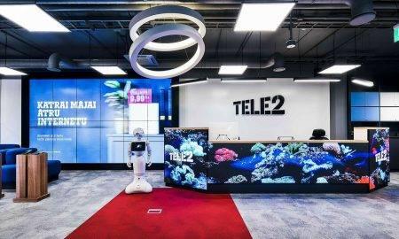 """""""Tele2"""" digitālajā attīstībā investējis 1,5 milj. eiro"""