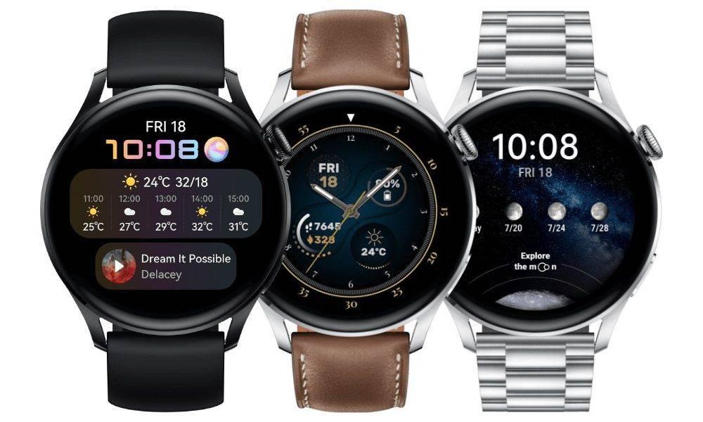 Huawei Watch 3 un Watch 3 Pro atjauninājums