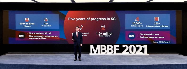 Kena Hju runa forumā MBBF2021 par 5G attīstību